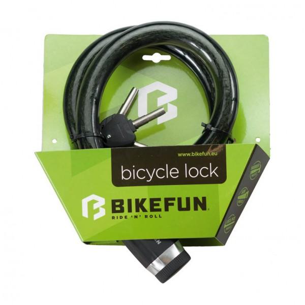 Antifurt BikeFun DEFENDER 3008, cablu (cheie), dimensiuni 25mm x 1000mm Antifurturi