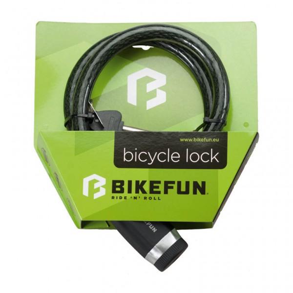 Antifurt BikeFun DEFENDER 3008, cablu (cheie), dimensiuni 18mm x 1000mm Antifurturi