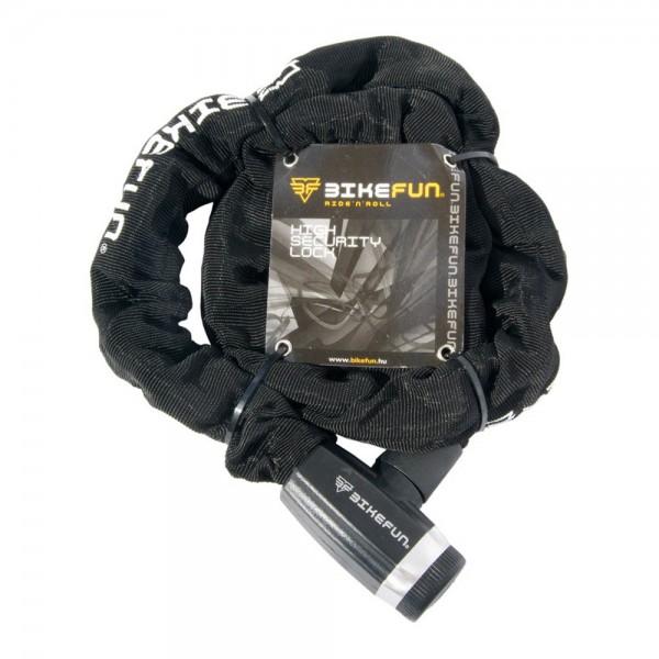 Antifurt BikeFun SHIELD 6013, lant (cheie), dimensiuni 10mm x 10mm x 1200mm Antifurturi