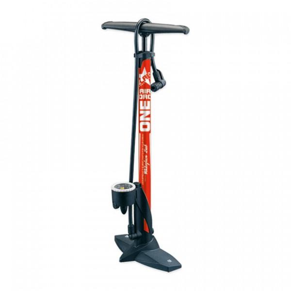 Pompa BikeFun AIR FORCE ONE TRUNK de podea, culoare rosu