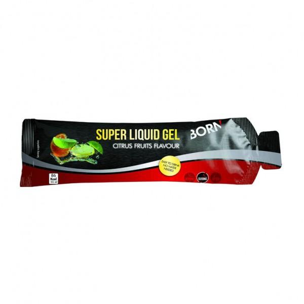Gel energizant Born SUPER LIQUID GEL, aroma citrice, 55ml