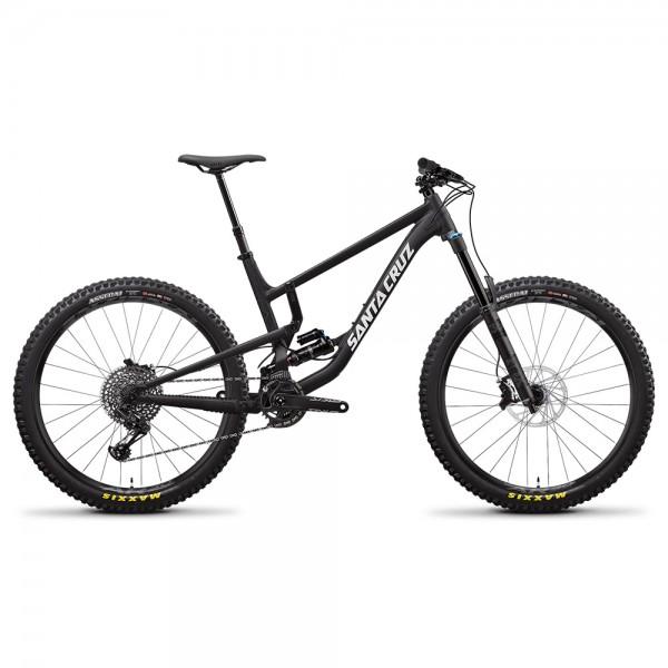 Bicicleta Santa Cruz 2020 NOMAD 4 ALUMINUM S 27.5, culoare negru / alb, marime M All Mountain si Enduro