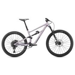 Bicicleta Specialized 2020 STATUS FSR 29 (27.5) 140, culoare liliac deschis / albastru metalizat, marime S4
