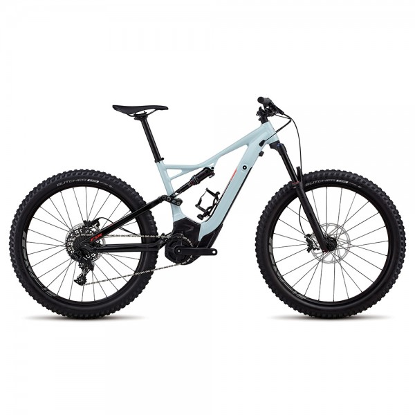 Bicicleta Specialized 2018 MEN'S TURBO LEVO FSR 6FATTIE / 29 albastru deschis / rosu Biciclete electrice