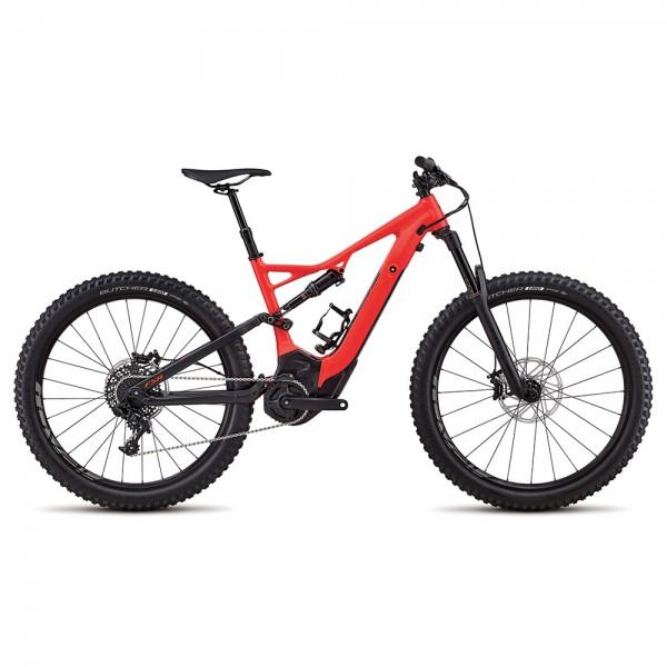 Bicicleta Specialized 2018 MEN'S TURBO LEVO FSR COMP 6FATTIE / 29, culoare rosu / negru