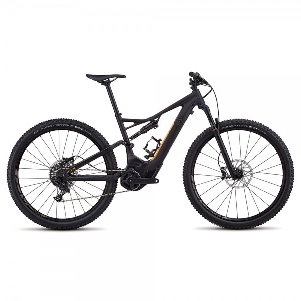 Bicicleta Specialized 2018 MEN'S TURBO LEVO FSR SHORT TRAVEL 29 - NB culoare negru / portocaliu