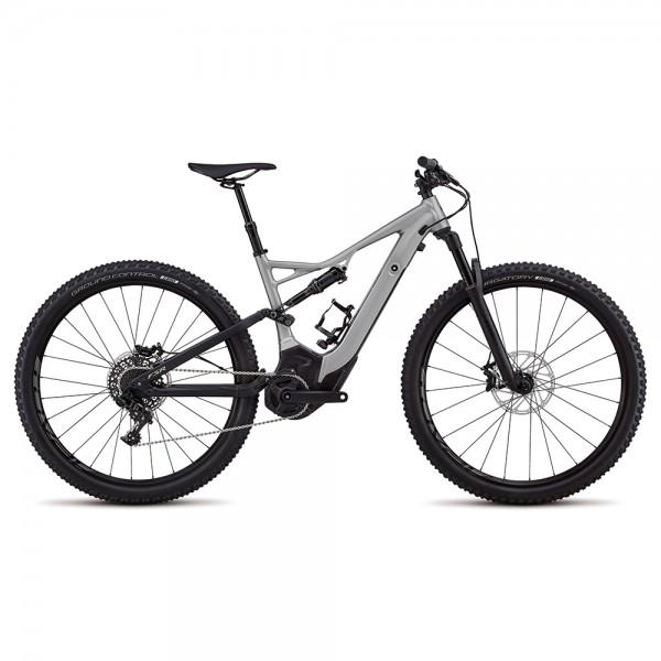 Bicicleta Specialized 2018 MEN'S TURBO LEVO FSR SHORT TRAVEL COMP 29 - NB culoare gri metalizat / negru