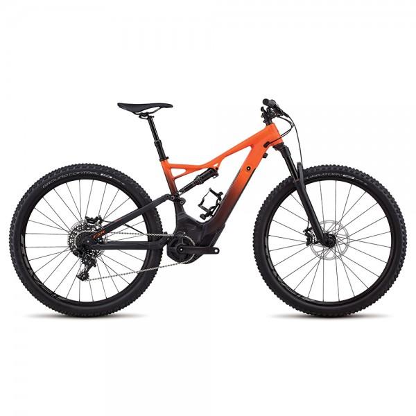 Bicicleta Specialized 2018 MEN'S TURBO LEVO FSR SHORT TRAVEL COMP 29 - NB culoare portocaliu / negru