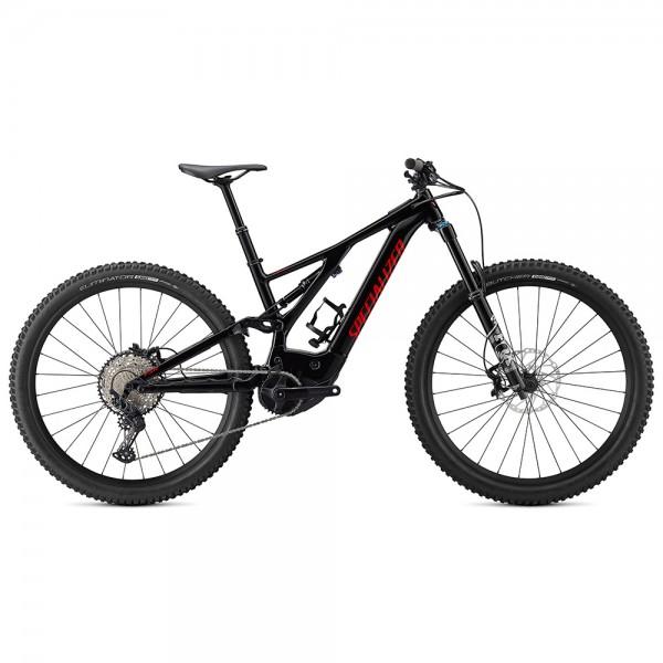 Bicicleta Specialized 2021 TURBO LEVO FSR COMP 29, culoare negru / rosu, marime XL Biciclete electrice