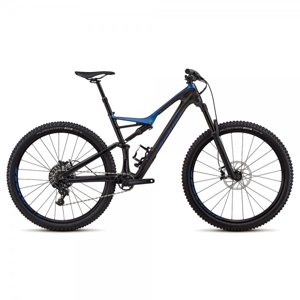 Bicicleta Specialized 2018 STUMPJUMPER FSR COMP CARBON 29 / 6FATTIE culoare negru / cameleon