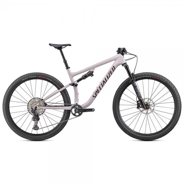Bicicleta Specialized 2020 EPIC EVO COMP 29 culoare liliac deschis / maro, marime L XC si TRAIL Full-Suspension