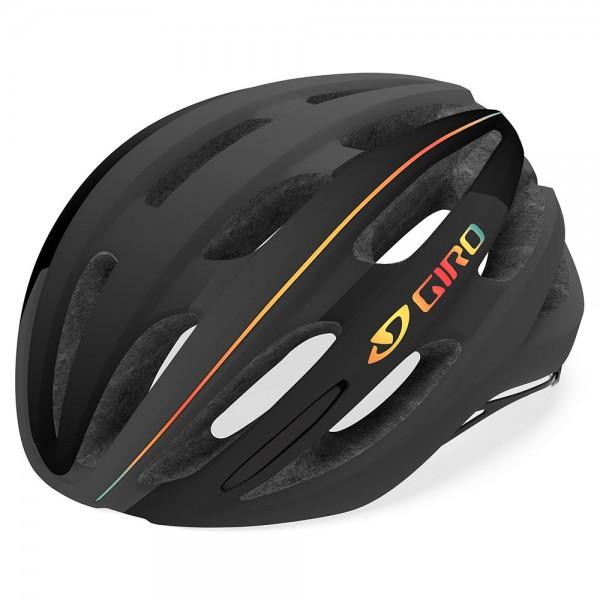 Casca Giro FORAY culoare gri inchis / negru / curcubeu, marime M Casti pentru bicicleta