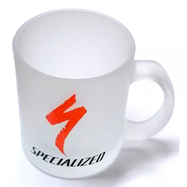 Cana cu logo Specialized, 200ml, transparent-mata