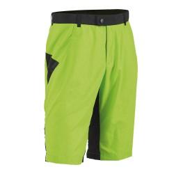 Pantalon ciclism Northwave IDOL BAGGY, scurt, cu bazon, culoare verde, marime L