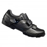 Pantofi Shimano SH-M089LE Wide, culoare negru / gri, marime 44 Incaltaminte
