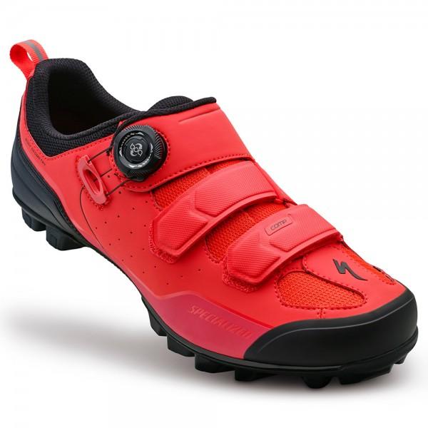 Pantofi Specialized 2016 COMP MTB, culoare rosu / negru, marime 45