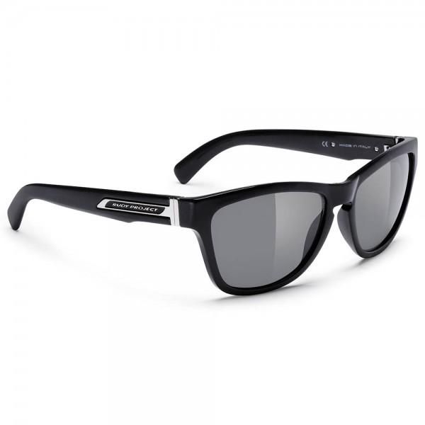 Ochelari de soare Rudy Project JAZZ, culoare rama negru lucios, culoare lentile fumuriu Ochelari
