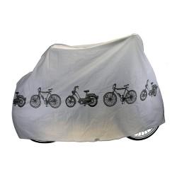 Husa protectie Ventura, pentru bicicleta, dimensiune 200x110cm, impermeabila, culoare gri