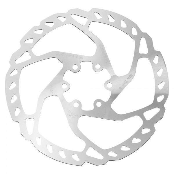 Disc de frana Shimano SLX / DEORE SM-RT66-S, 160mm, 6 suruburi Frane