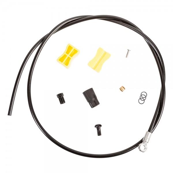 Conducta Shimano ZEE SM-BH90-SBS pentru frana hidraulica, lungime 1700mm (ajustabila), culoare negru