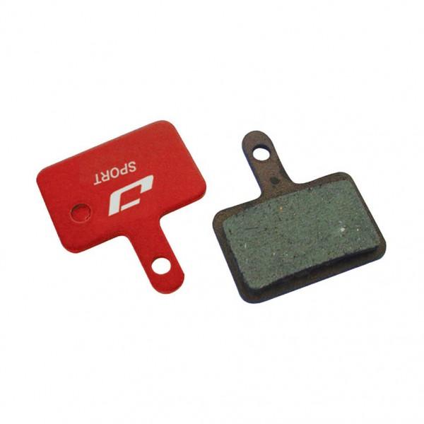 Placute de frana Jagwire MOUNTAIN SPORT DCA016, semimetalice, compatibile Shimano Deore
