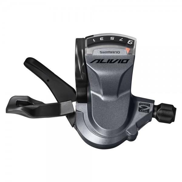 Maneta de schimbator Shimano ALIVIO SL-M4000-R Rapidfire Plus pentru partea dreapta (spate), 9-viteze Manete de schimbator