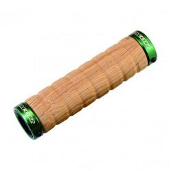 Mansoane Acor ASG-2901 lungime 129mm, culoare lemn / verde