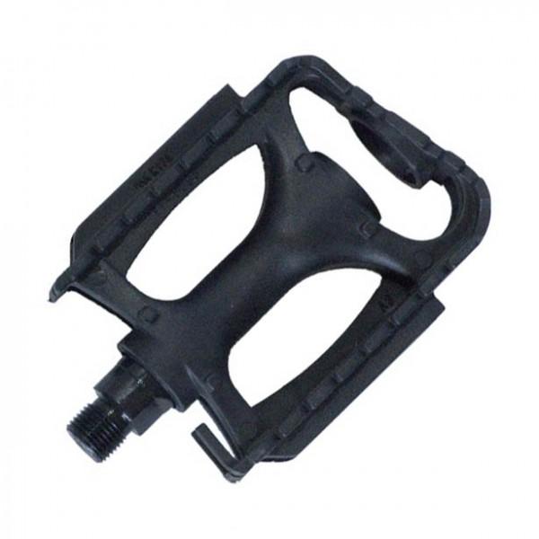 Pedale BikeFun ALPINE PP pentru MTB, din plastic, culoare negru