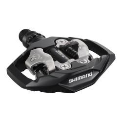 Pedale SPD Shimano PD-M530-L, culoare negru (includ placute SM-SH51)