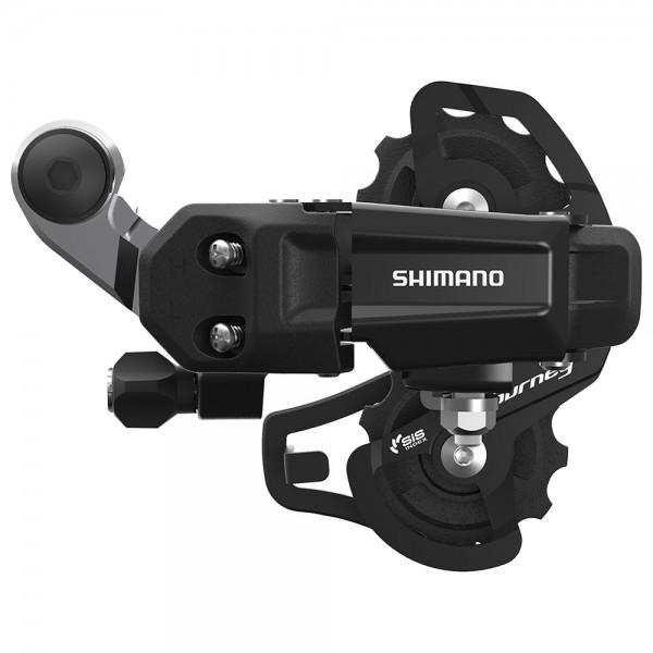 Schimbator spate Shimano TOURNEY RD-TY200-SS, 6/7-viteze, prindere directa, culoare negru Schimbatoare